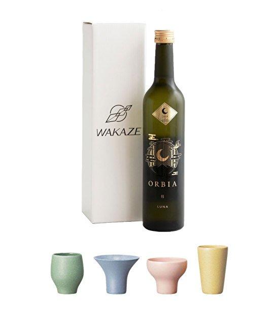 お猪口セットのみ比べ & WAKAZE オーク樽熟成日本酒 ORBIA LUNAギフトセット.jpg